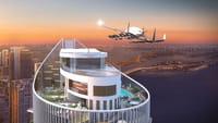 Een vliegveld voor vliegende auto's