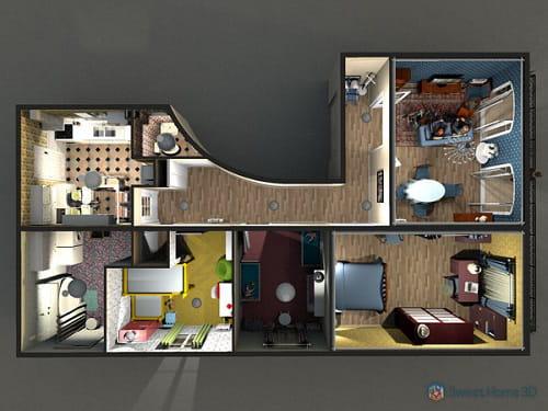 Download sweet home 3d gratis laatste versie in het for Sweet home 3d mobili