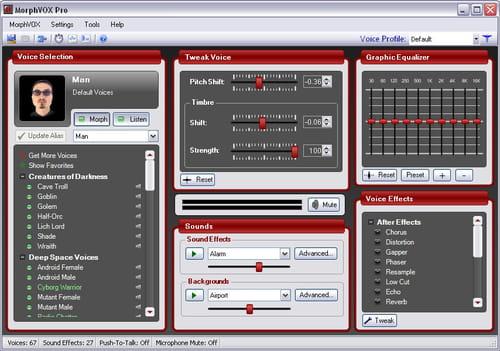 MorphVOX Pro voor Windows - CCM